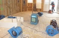 Water Damage Restoration of New Home
