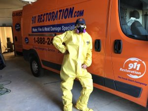 Sewage Restoration Technician